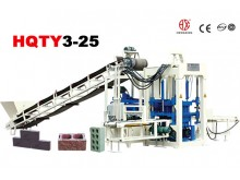 HQTY3-25 block making machine
