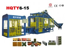 HQTY6-15 fully-automatic block making machine line