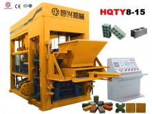 HQTY8-15 fully-automatic block making machine line