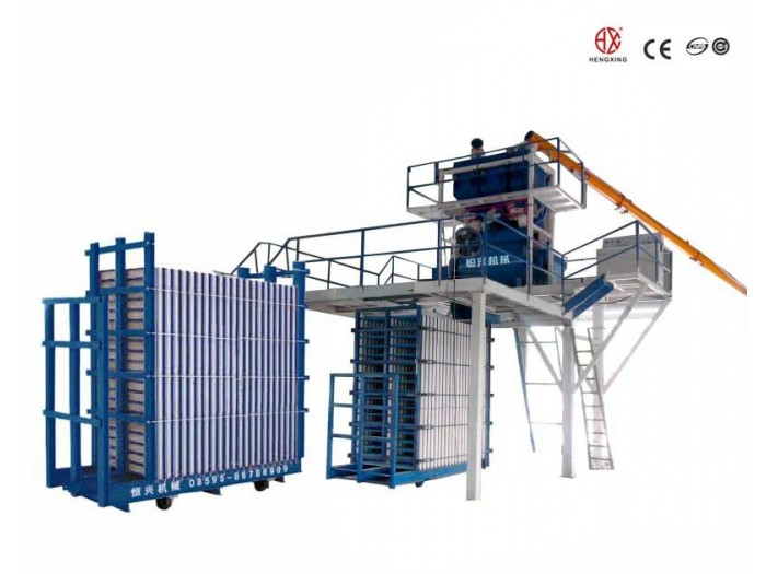 Lightweight Sandwich Wall Panel Machine