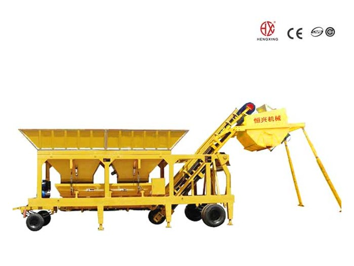 YWBS series stabilized soil mixing machine